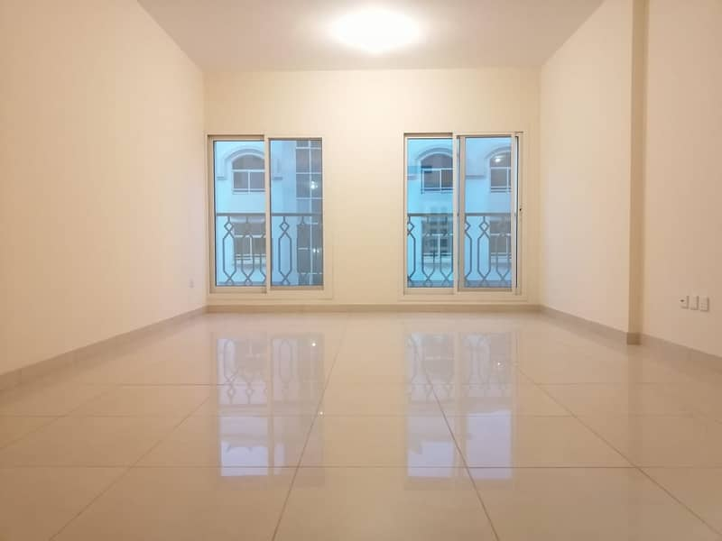 Excellent & Huge Size 2BHK With Standing Balcony 3 Bathroom Apartment At Delma Street For 60k