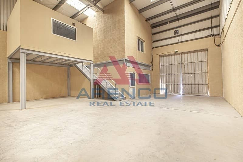 Large Open Plan warehouse with fitted Office