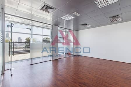 Office for Rent in Dubai Media City, Dubai - Fitted Office with Partition  | No Commission