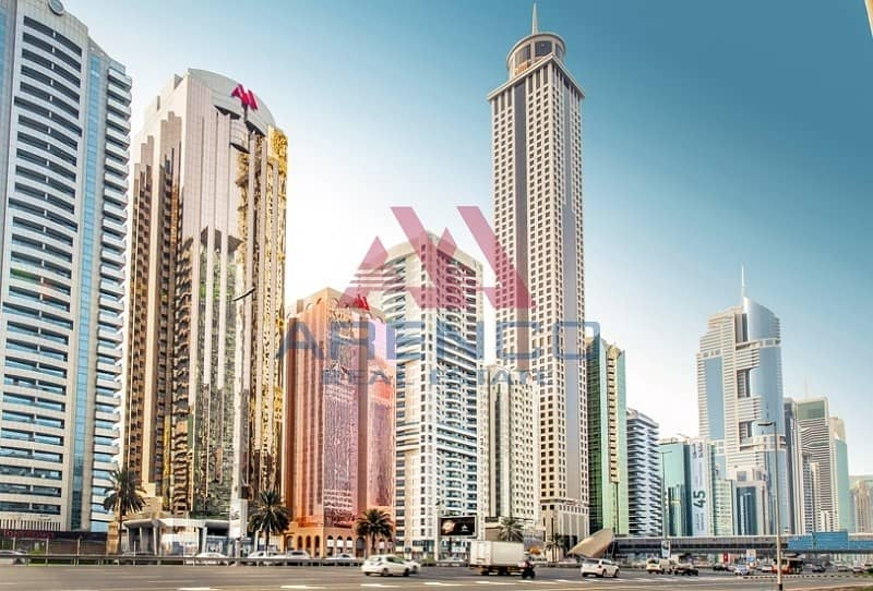 Fitted & Partitioned Office. Close to Emirates Tower Metro
