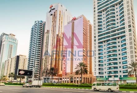 Open Layout Office space in Al Moosa Tower 2 - SZR