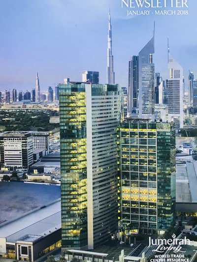 2 Bedroom Apartment for Sale in World Trade Centre, Dubai - Best 2Br Simplex Apartment for SALE in Jumeirah Living
