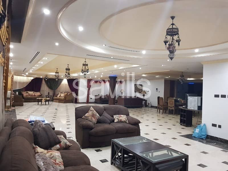 Spacious 9 BED Palace in prime Al Shahba area