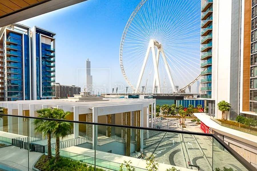 3Bed + Maid | Ain Dubai and Garden View