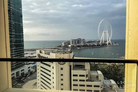 فلیٹ 1 غرفة نوم للبيع في جميرا بيتش ريزيدنس، دبي - Large Layout | Full Sea Views | One Bed