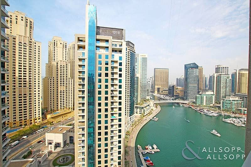 2 One Bed | Rare Upgraded Unit | Marina View