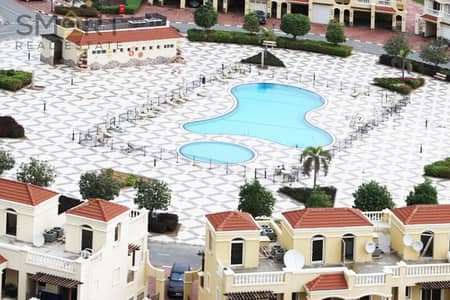 Beautiful  2BR  golf chalet  is located in Royal Breeze, Al Hamra Village  available for sale.