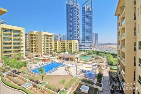 1 Bedroom Apartment for Sale in The Greens, Dubai - Well Priced | Rented | Pool View | 1 Bed