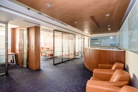 مکتب  للايجار في شارع الشيخ زايد، دبي - High Floor | Combined Partitioned Offices