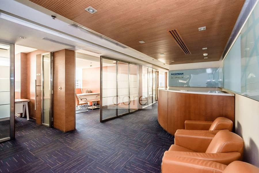 High Floor   Combined Partitioned Offices