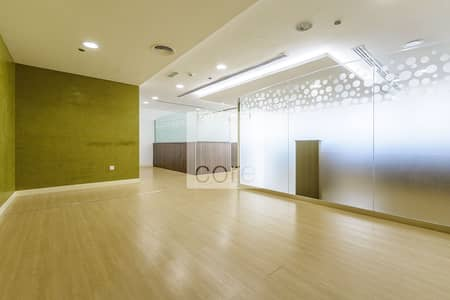 Office for Rent in Jumeirah Lake Towers (JLT), Dubai - Fitted Office with Partitions | Mid Floor