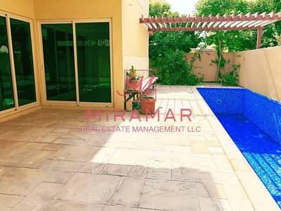 5 Bedroom Villa for Rent in Al Raha Gardens, Abu Dhabi - PRIVATE POOL  5 BEDROOMS  BEAUTIFUL GARDEN