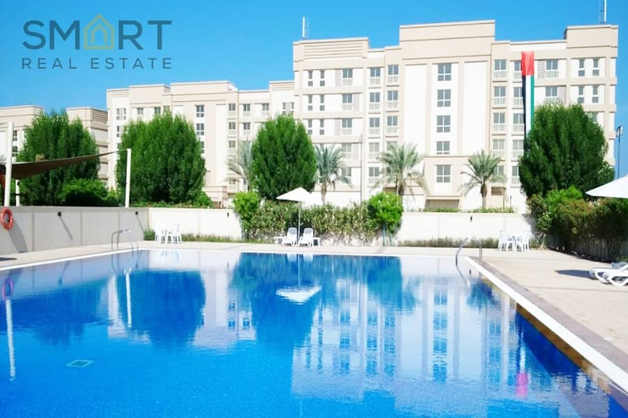 The best deal in Mina Al Arab, Beautiful  1BR  apartment  located in  the lagoons buildings  ,