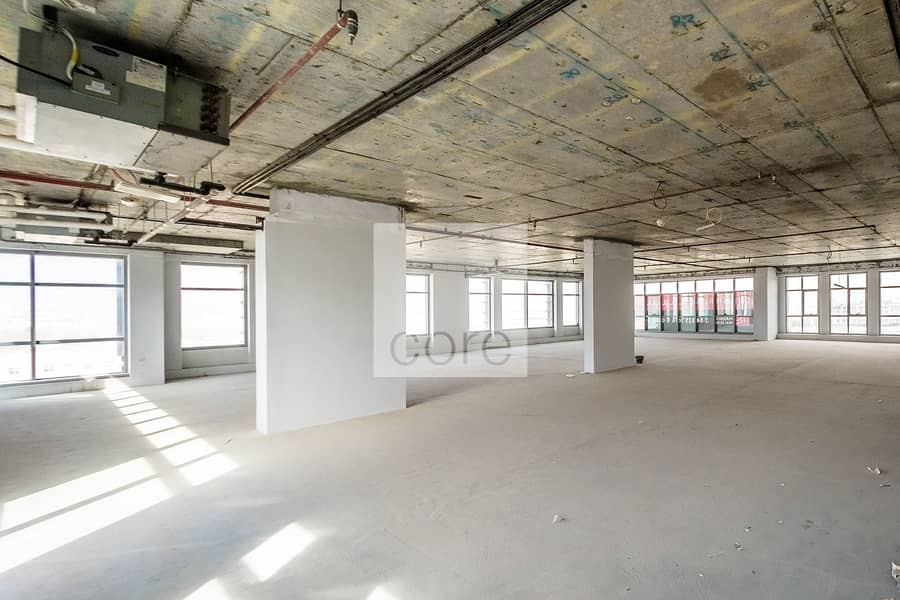 2 Spacious Shell and Core Office | Low Floor