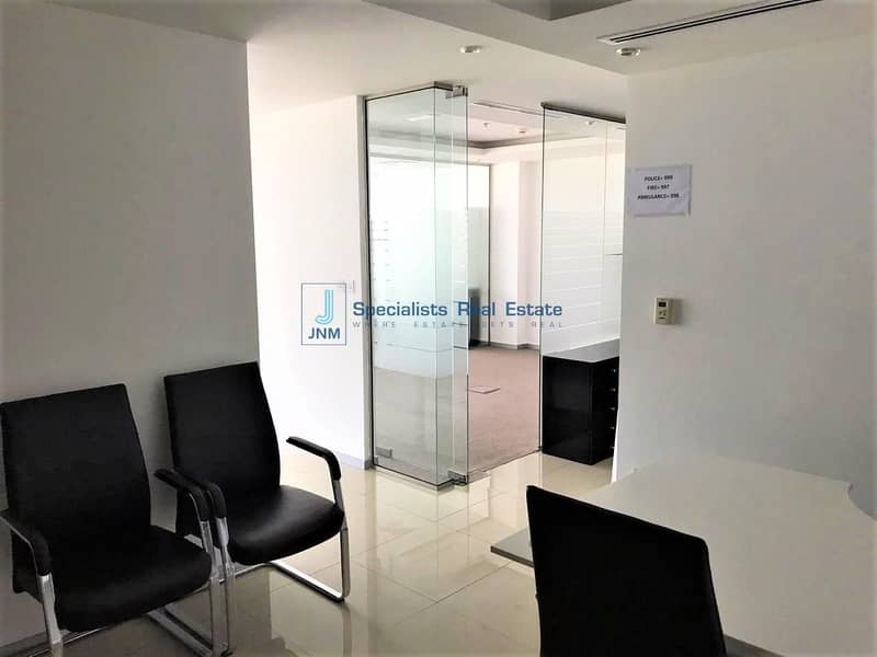 2 Fitted Office space with Glass Partitions in JBC
