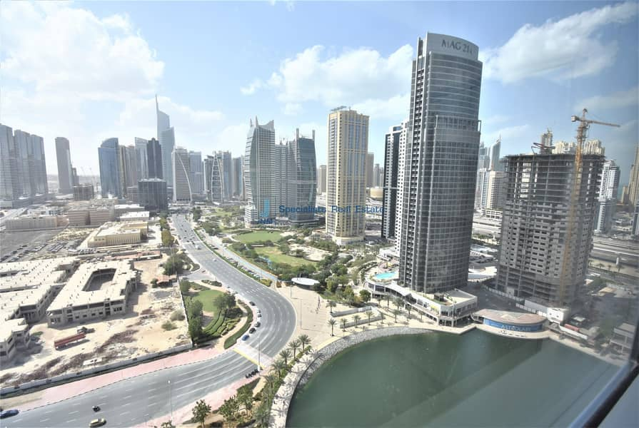 High Floor   Fitted Office with Partitioned  Lake View