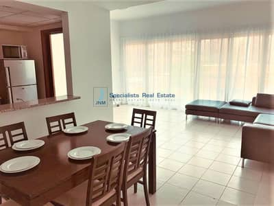 2 Bedroom Flat for Rent in The Greens, Dubai - Furnished 2 BR + Study| Pool View