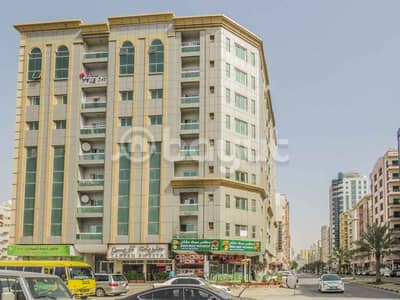 1 Bedroom Apartment for Rent in King Faisal Street, Ajman - ATTRACTIVE 1-BHK AVAILABLE FOR RENT