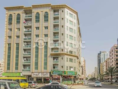 شقة 1 غرفة نوم للايجار في شارع الملك فيصل، عجمان - شقة في شارع الملك فيصل 1 غرف 22000 درهم - 4494284
