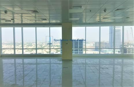 Office for Rent in Jumeirah Lake Towers (JLT), Dubai - Fitted Office | SZR View | High Floor