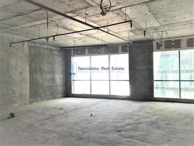 مکتب  للبيع في الخليج التجاري، دبي - Shell & Core Office near Metro | High Floor