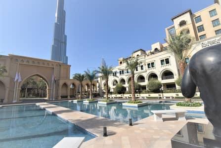 مکتب  للبيع في المدينة القديمة، دبي - Burj Khalifa View| Semi-Fitted Office