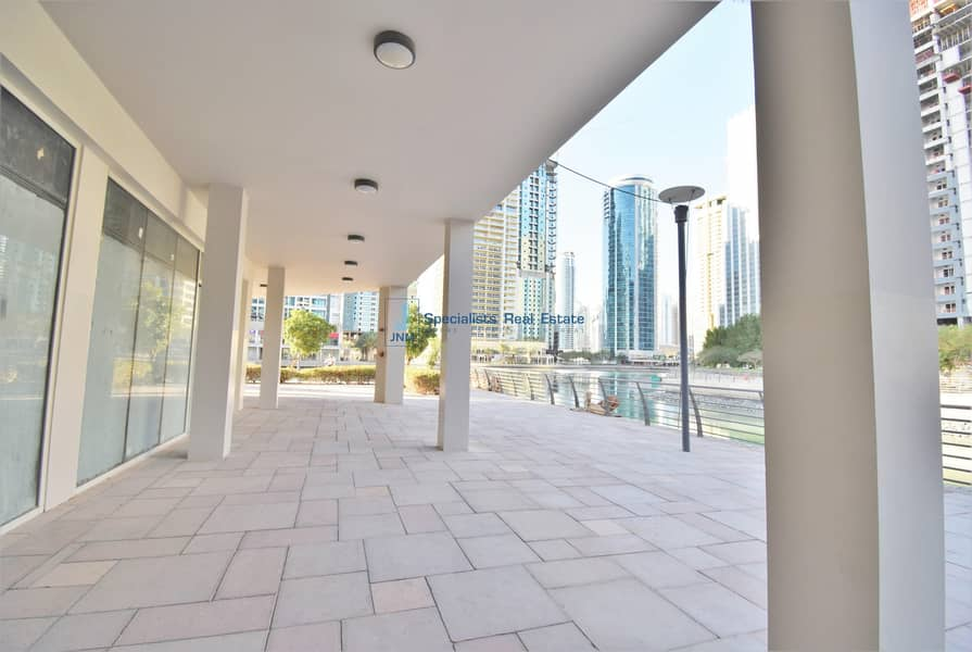 2 Brand New Retail Space with Lake view