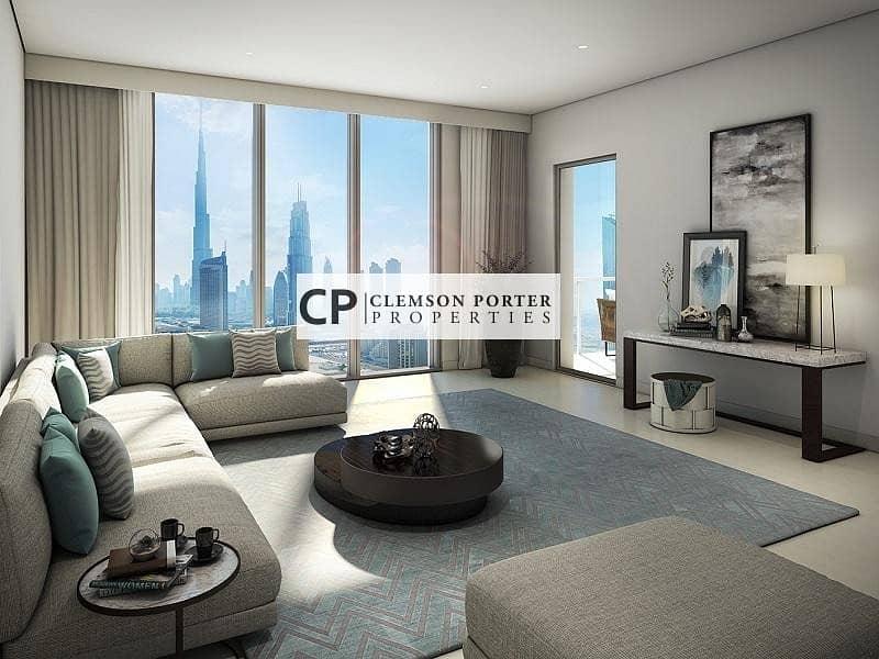 2 BR Full Burj  Khalifa and Fountain View | Downtown Views T3