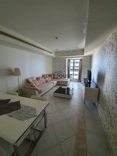 1 Bedroom Apartment for Rent in Dubai Marina, Dubai - Furnished 1 Bed  I   Sea View  I   Princess Tower