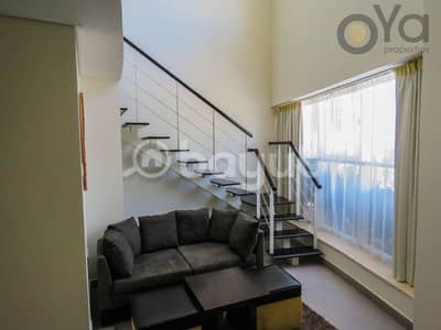 استوديو  للايجار في مدينة دبي الرياضية، دبي - Fully Furnished Loft Studio   up to 6 Cheques