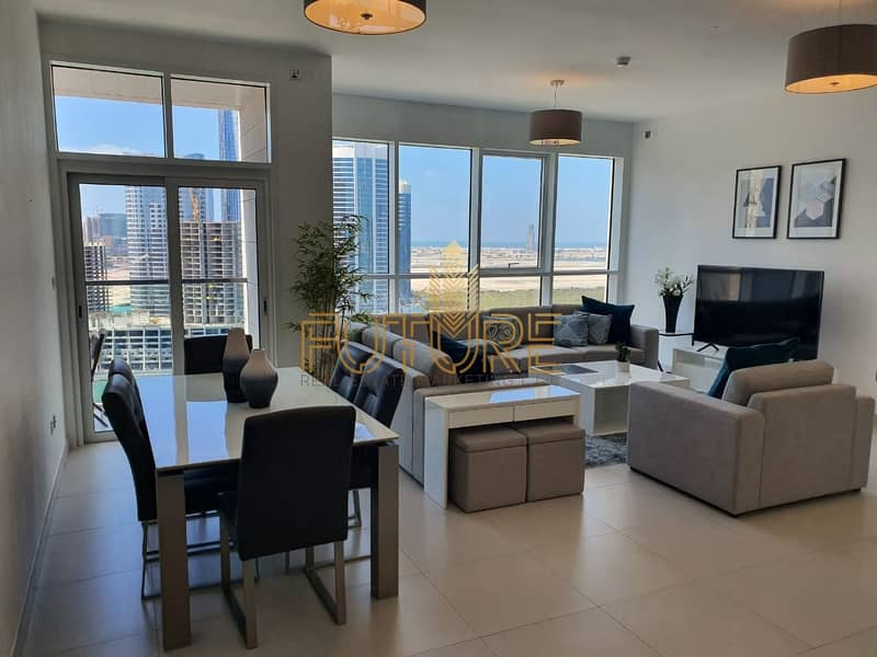 2 Two bedrooms + m brand new  Al Reem Island no commission