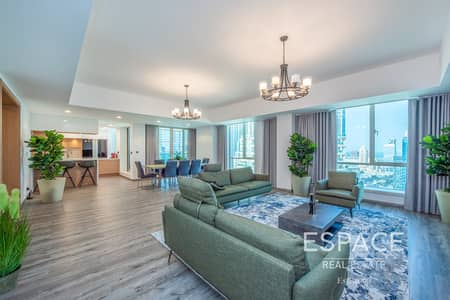 5 Bedroom Apartment for Sale in Dubai Marina, Dubai - Fully Upgraded | 5 Bed | Golf Course View