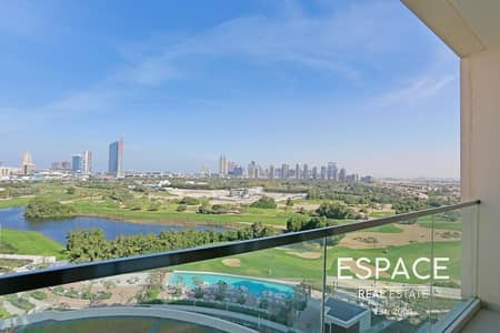2 Bedroom Flat for Sale in The Hills, Dubai - Fully Furnished | Emirates Golf Views | 2 Bed