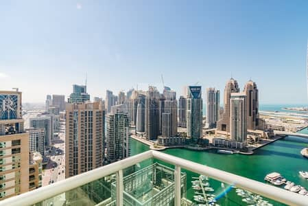 4 Bedroom Flat for Rent in Dubai Marina, Dubai - Largest Layout I Marina Views I Rare Unit I Vacant I Must See I Natural Light