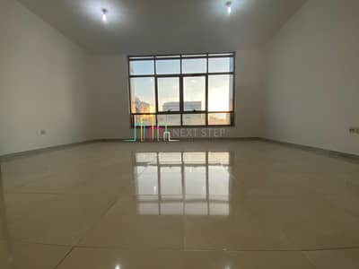 3 Bedroom Apartment for Rent in Tourist Club Area (TCA), Abu Dhabi - Pleasing 3 BR + Maid'sroom + Balcony + Wardrobes In 4 Cheques