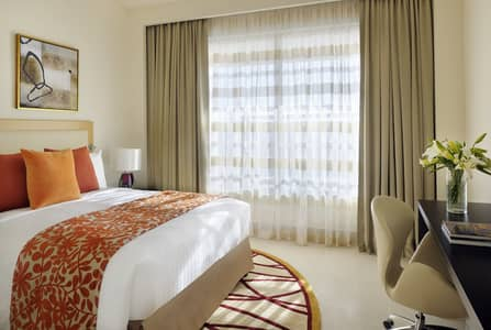 1 Bedroom Hotel Apartment for Rent in Bur Dubai, Dubai - Master Bedroom
