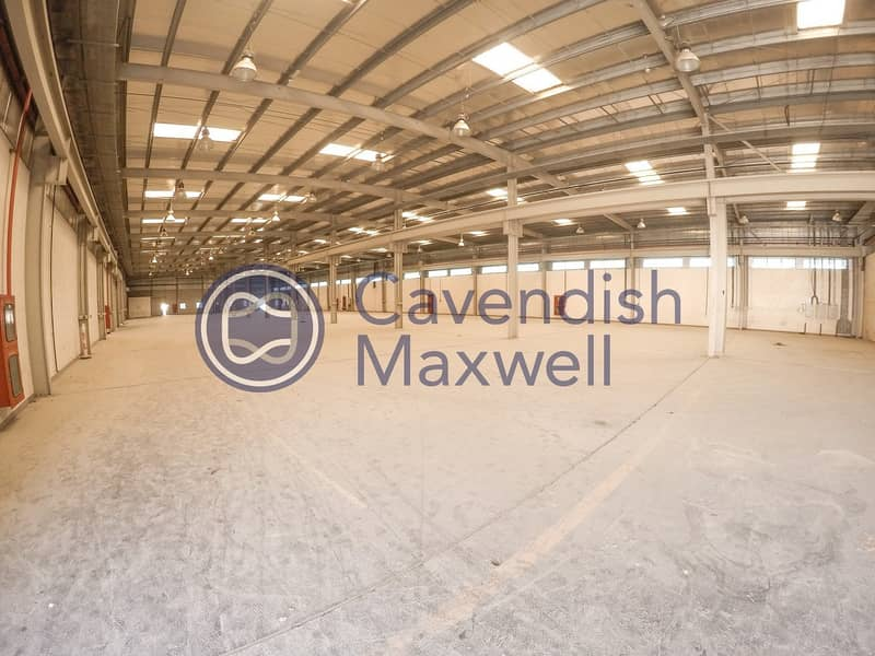 Heavy Industrial Facility with Extensive Yard
