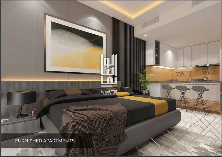 Fully Furnished 1 Bedroom Apartment with 7 Years Payment Plan