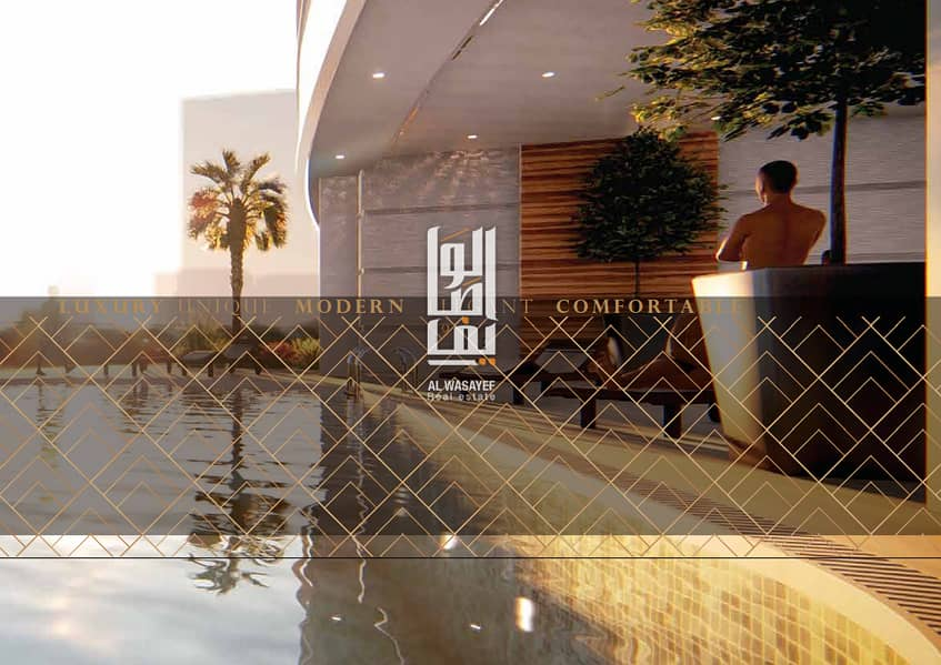 9 Fully Furnished 1 Bedroom Apartment with 7 Years Payment Plan