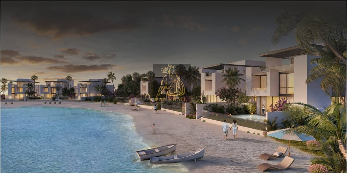 2 Luxury 4BR Waterfront Villa for sale in Sharjah Waterfront City | Prime Location with Stunning Beach Views