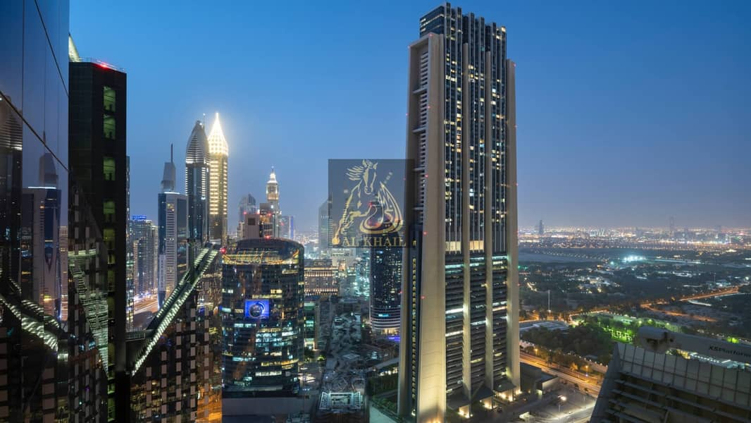 14  DIFC | Full Burj Khalifa View | Accessible Location