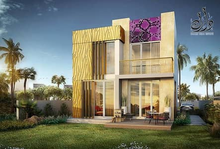 3 Bedroom Townhouse for Sale in Akoya Oxygen, Dubai - Luxury Just Cavalli | Payable for 4 Years Plan