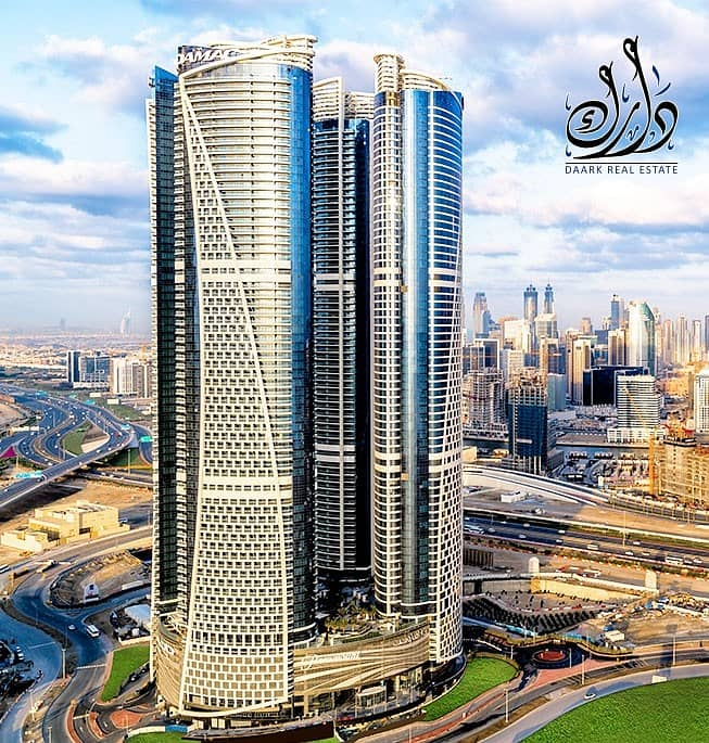 2 Live Luxuriously in the Unique Towers of DAMAC ! Offers you 2 Bedroom Apartment !