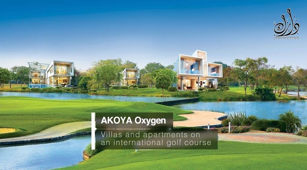 10 Great Deals ! Easy Payment Plan ! Get your own Villa in Akoya now !