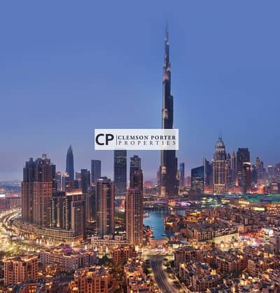 2 Bedroom Apartment for Sale in Downtown Dubai, Dubai - Contemporary and Luxury 2 Bedroom Apartment with 3 years payment plan