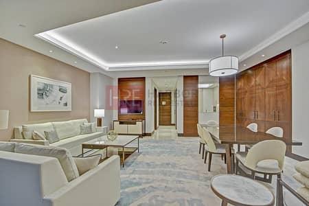 2 Bedroom Hotel Apartment for Rent in Downtown Dubai, Dubai - 1 Month Rent Free | 12 Cheques | Burj Khalifa View