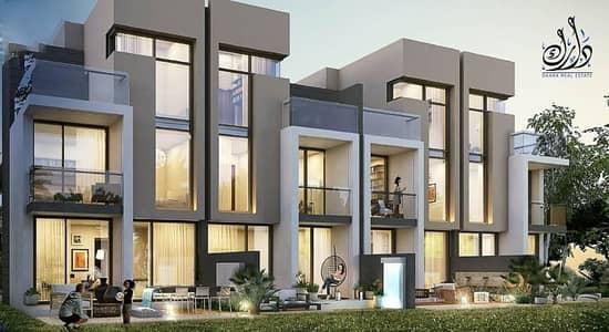 فیلا 5 غرف نوم للبيع في أكويا أكسجين، دبي - Own  a 5BR- 3 floors townhouse with installments