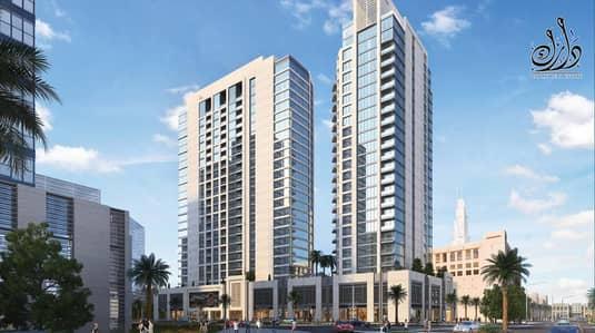 فلیٹ 2 غرفة نوم للبيع في وسط مدينة دبي، دبي - pay 5% and get your unit installment for 5 years