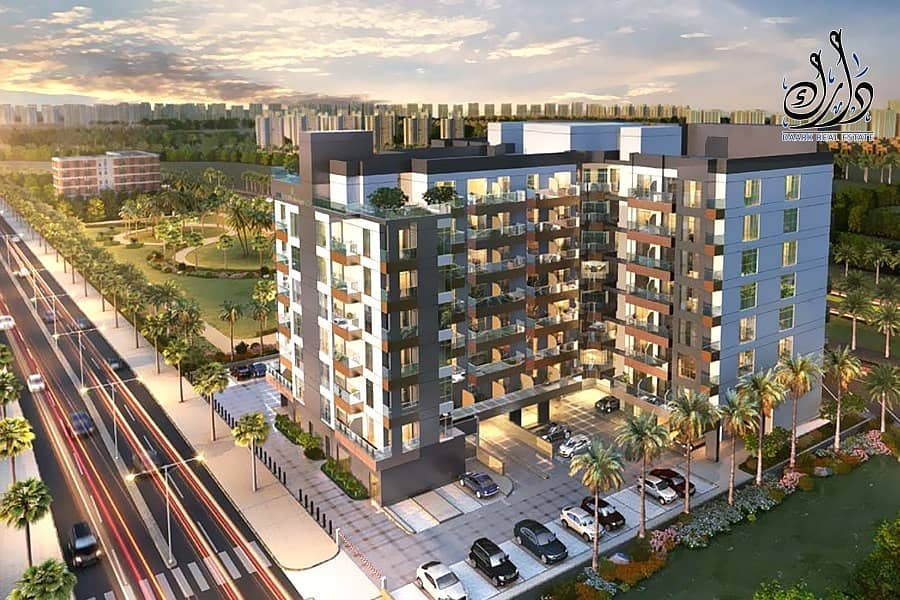 Get 2 bedroom apartment near metro station with 4 year  payment plan!