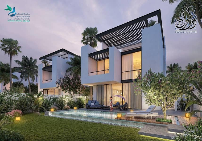 PAY 5%  OWN VILLA WITH SEA VIEW | 5YEAR'S PAYMENT PLAN .